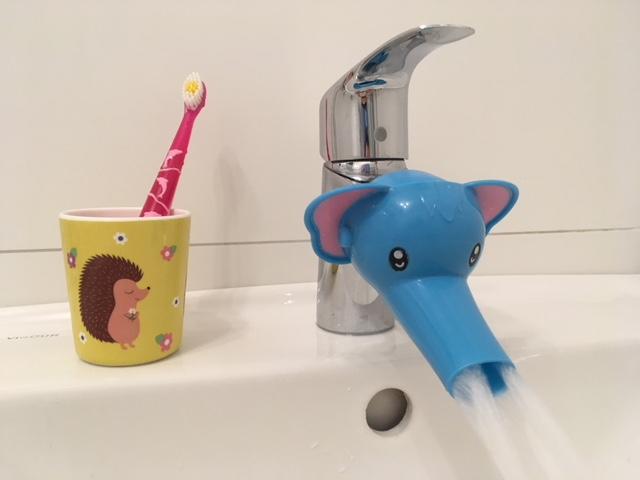 Wasserhahnverlängerung für Kinder