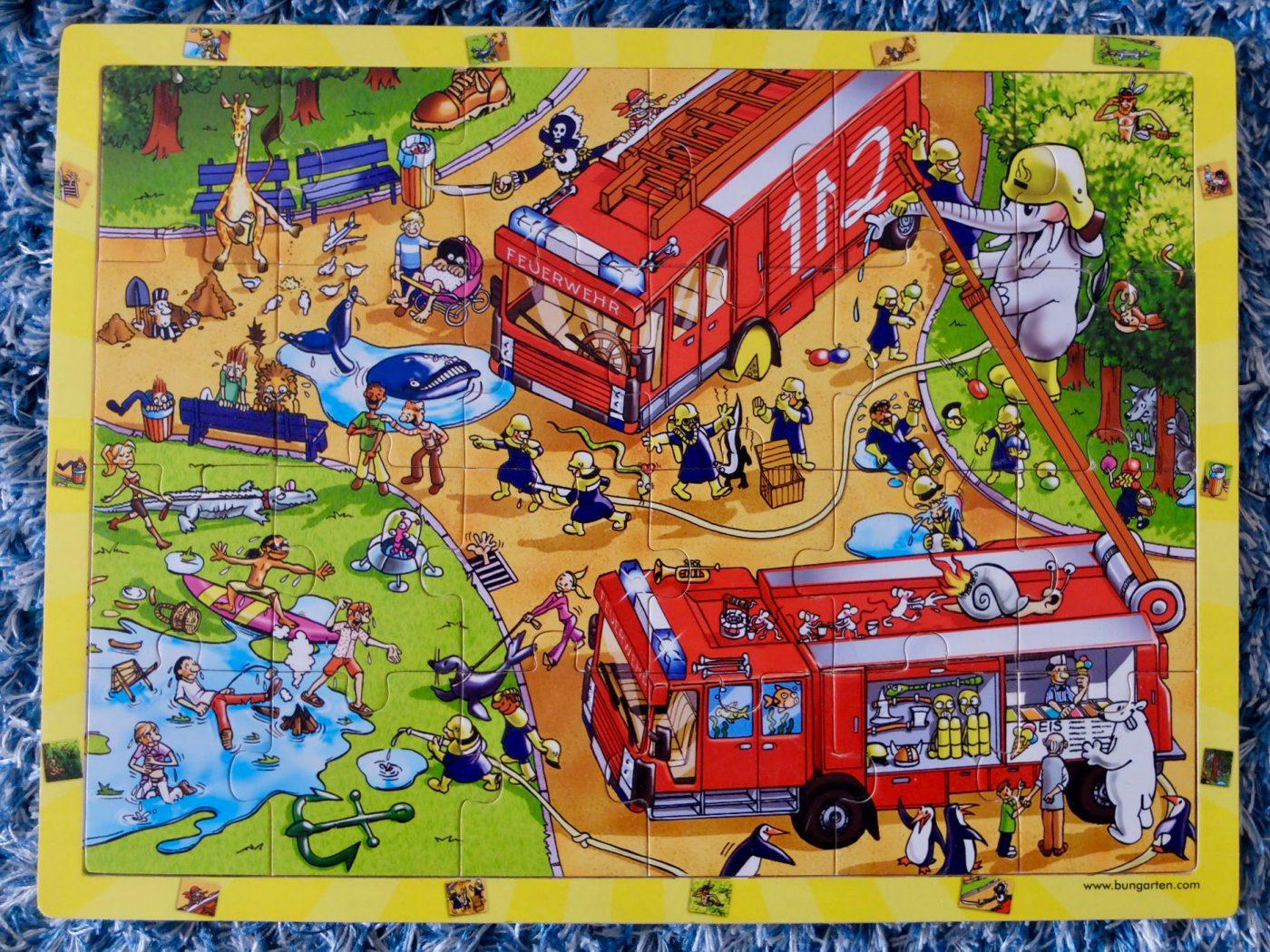Kreatives Puzzle für Kleinkinder